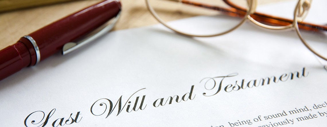 Wills, Estate Planning and Probate